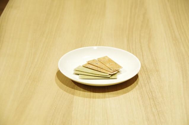 bite-sized crunchy snack